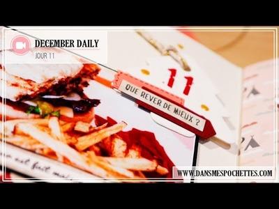 (Scrapbooking) December Daily en français. Jour 11