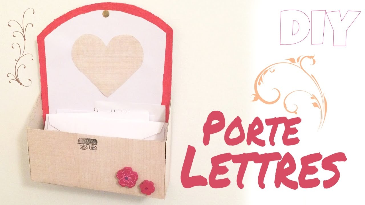 diy 4 porte lettre pour ranger les papiers qui tra nent. Black Bedroom Furniture Sets. Home Design Ideas
