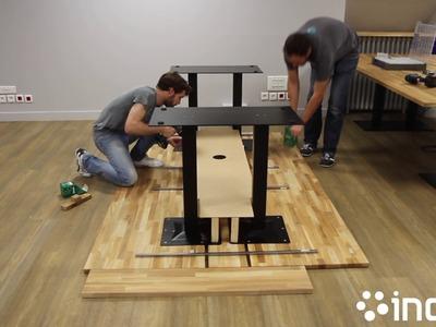 DIY : Desk en bois chez inovia