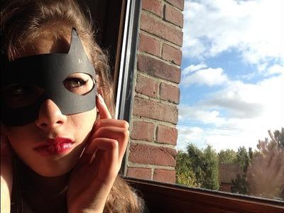 DIY-Maquillage d'halloween dernière minute * Catwoman
