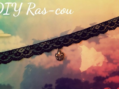 DIY.TUTO: Ras-cou simple