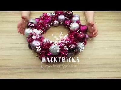 HackTricks - DIY Couronne de Noël