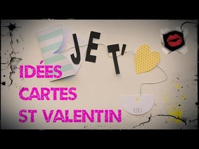 Idées de cartes pour la St Valentin scrapbooking.vintage
