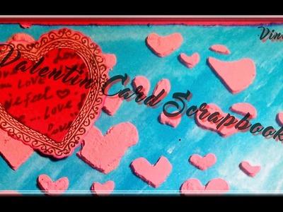 Scrapbooking : Carte #009 ❥ ~~°St Valentin°~~ (3)
