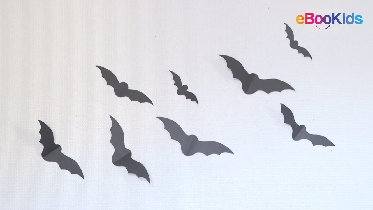 tuto diy halloween comment faire une chauve souris. Black Bedroom Furniture Sets. Home Design Ideas