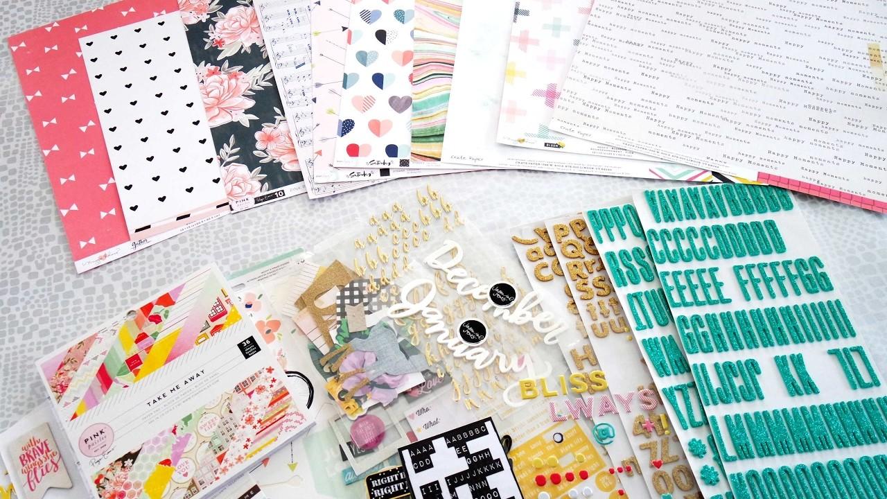 creer son kit de scrap diy scrapbook kit. Black Bedroom Furniture Sets. Home Design Ideas