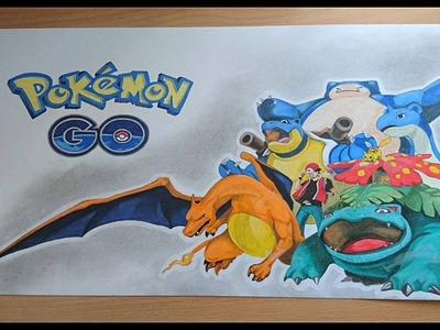 [Dessin]Speed Drawing: Réalisation Pokémon