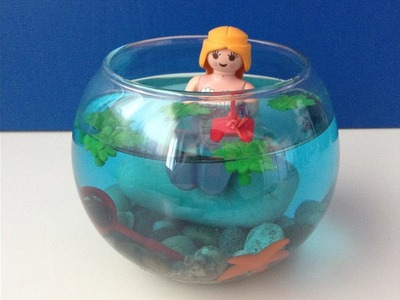 [DIY n°1] Décoration aquatique Playmobil
