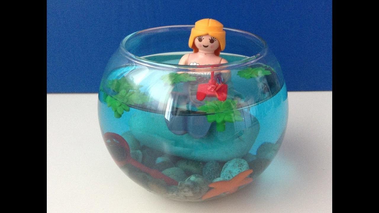[DIY n°1] Décoration aquatique Playmobil