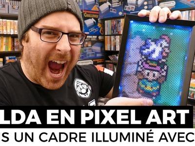 Zelda en Pixel Art : BRICOLER UN CADRE ILLUMINÉ