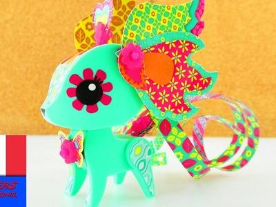 Cerf multicolore du Kit Amigami Origami avec plus de 500 combinaisons possibles | Démo
