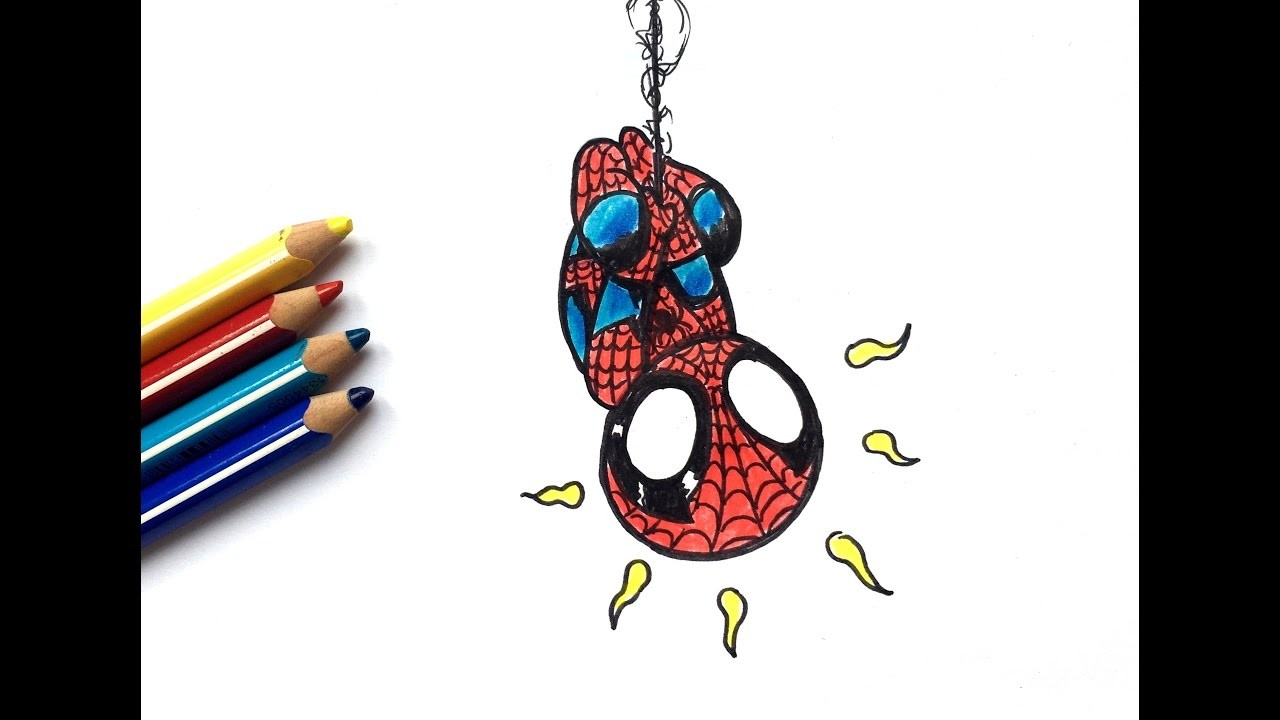 Dessin spiderman chibi - Spider man en dessin ...