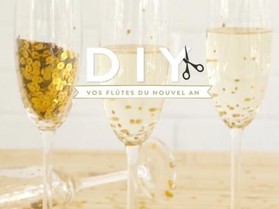 Flûtes à champagne - DIY Westwing France