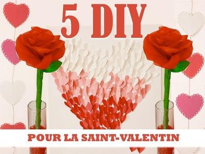 5 DIY pour la Saint-Valentin. Table à dessert pour la Saint-Valentin. PART 2