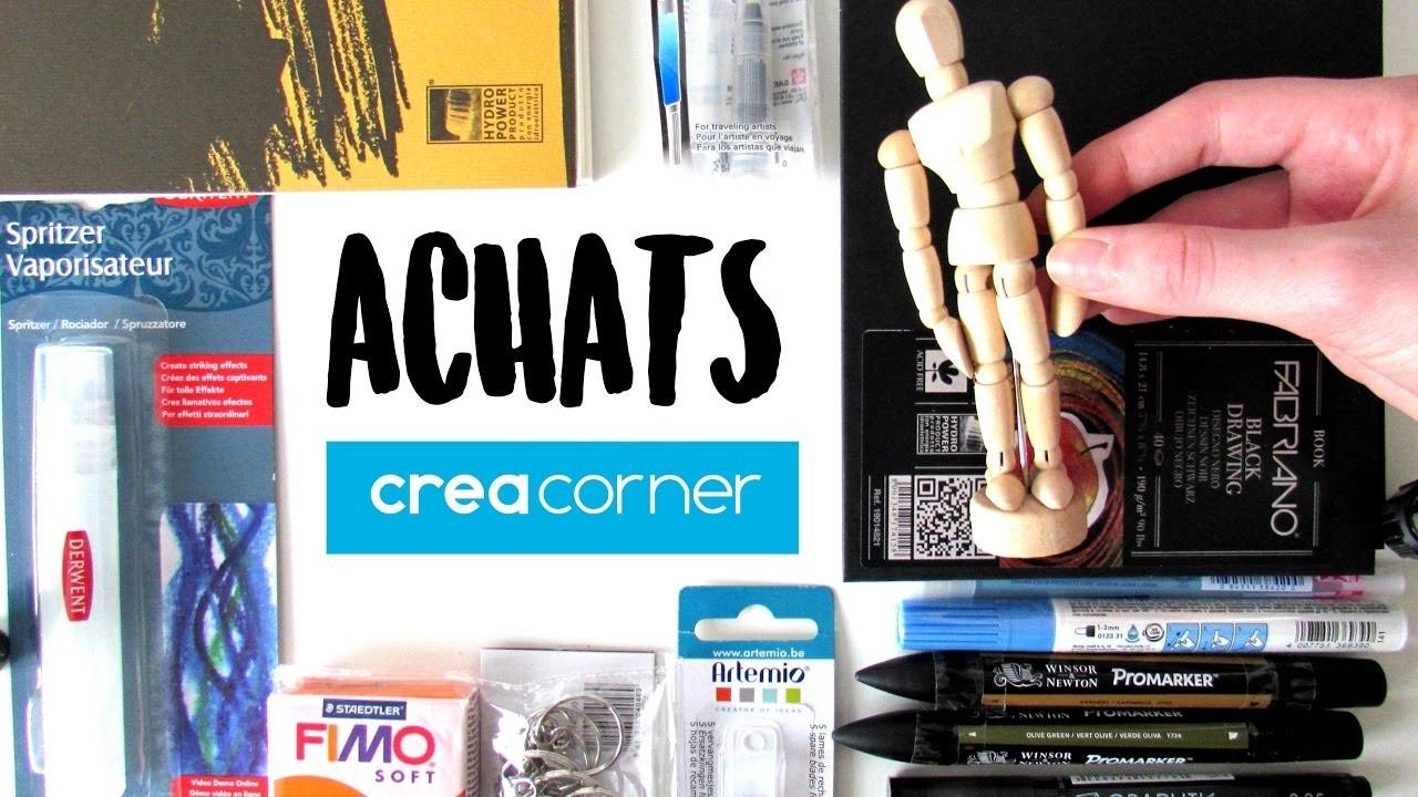 BIG ACHATS CREACORNER - ART, POLYMERE, DIY