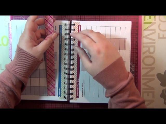 Création Scrap - Planner récup' style japonais