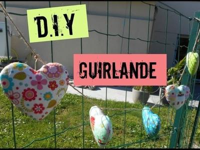 - |D.I.Y. #2 | guirlande coeur |-
