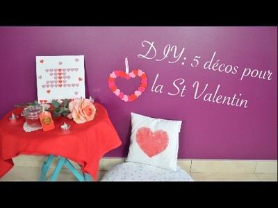 DIY: 5 décos pour la St Valentin ????  ????