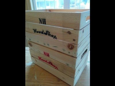 DIY easy wood box