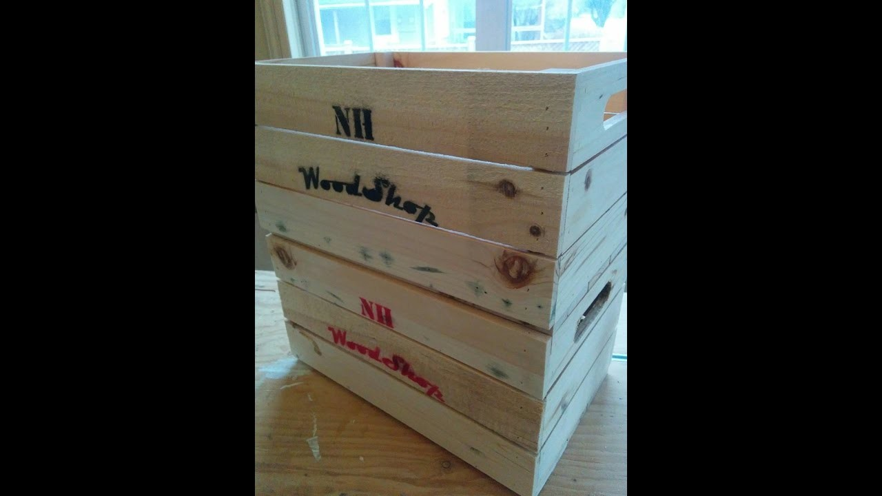 DIY easy wood box