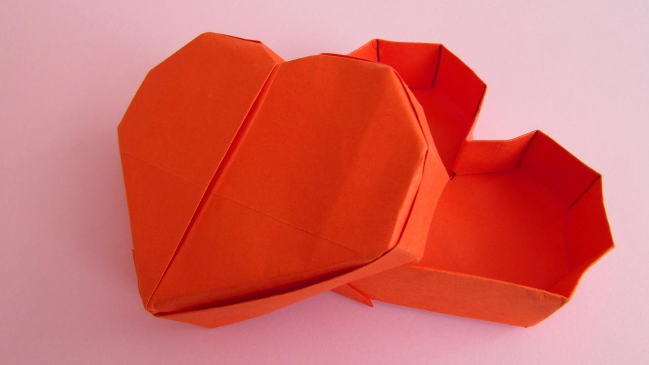Origami bo te c ur jeremy shafer - Origami boite coeur ...