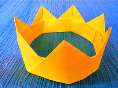 Origami modulaire : ???? Couronne ????????