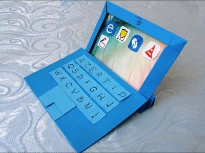 Origami : ????⌨️Tablette tactile numérique 2 en 1, ????mini-ordinateur avec l'écran-tablette détachable