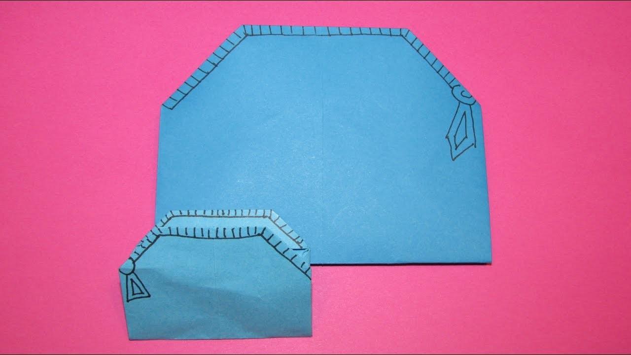 origami  faire un t-shirt en origami
