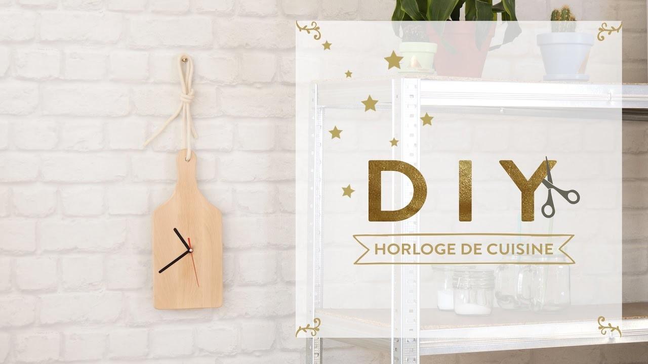 Cadeau de noël horloge de cuisine - DIY Westwing France