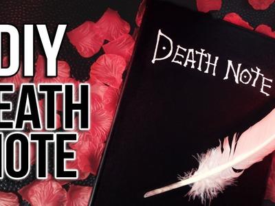 CRÉER UN DEATH NOTE - DIY