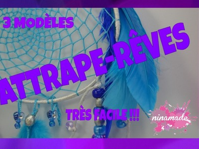 DIY. Attrape Rêves Indien.How To Make Dream Catcher.