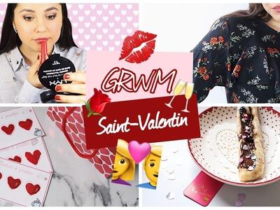 GRWM ♡ Saint-Valentin ⎢Maquillage, tenue & diy.idées