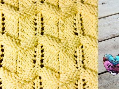 Point zig zag fantaisie tricot facile. Zigzag knitting stitch (english subtitles)