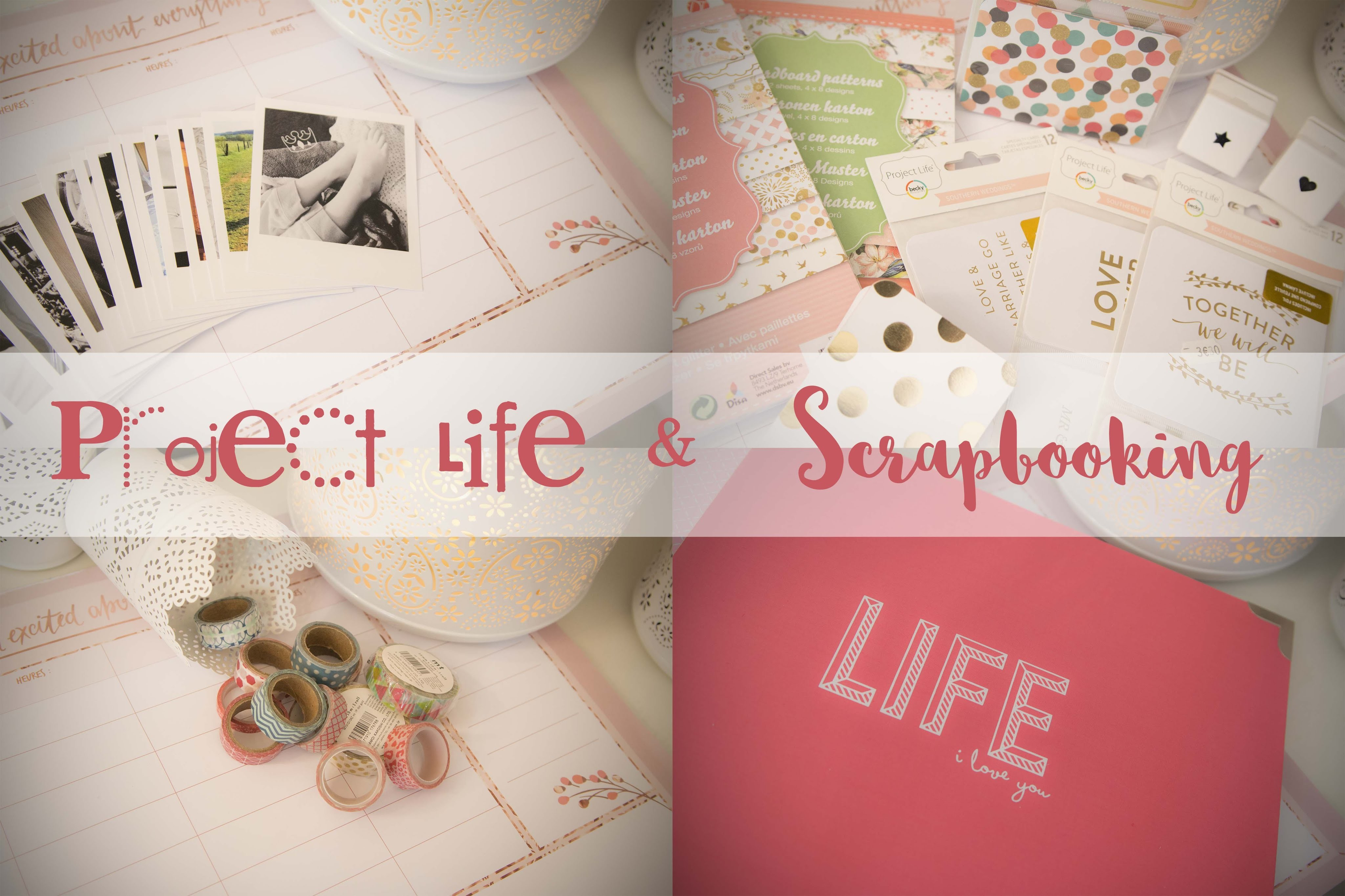 .::. Project Life et Scrapbooking .::.