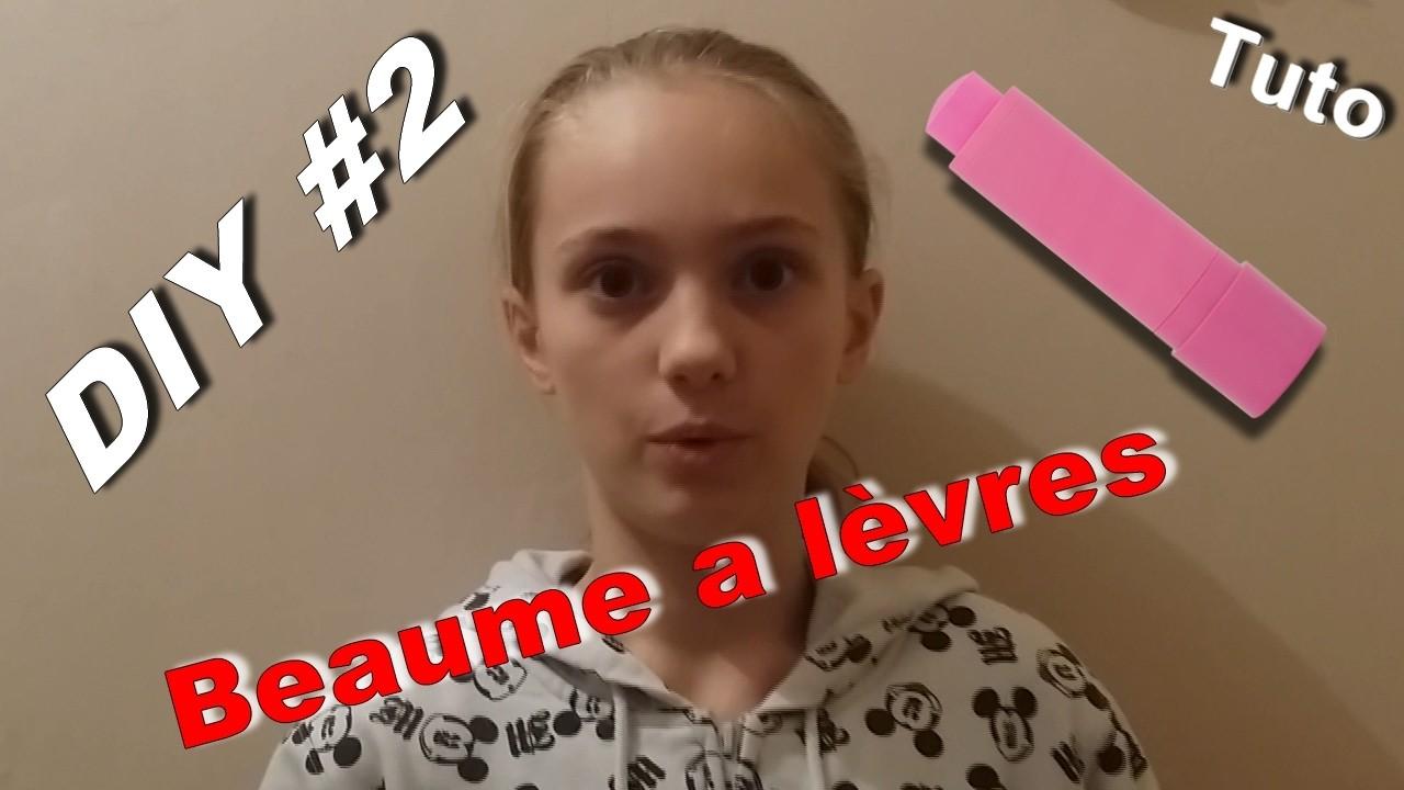 """DIY #2 """"BAUME A LEVRES"""" A LA NOIX DE COCO"""