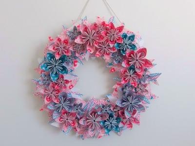 DIY : Fabriquer une couronne de fleurs en papier