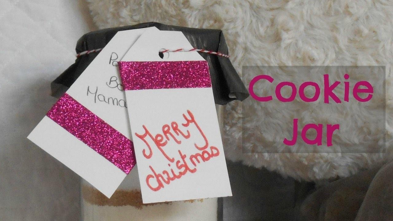 [ DIY n°1 ] : Cookie Jar ( Cadeau Noël )