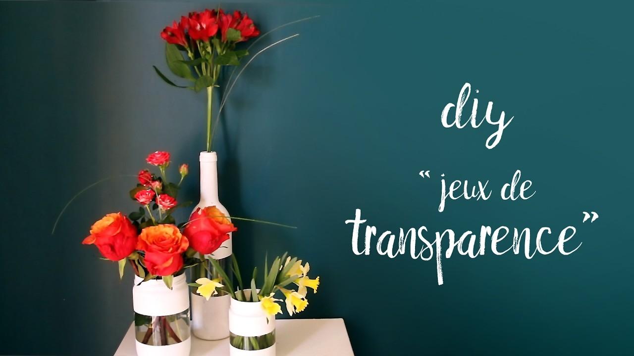 ♡ DIY . Vase bi matière ♡