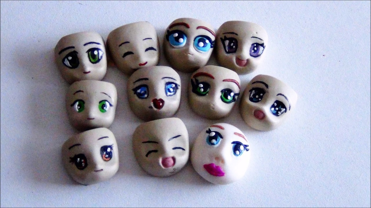 tuto fimo polymer visage tete de chibi polymer face chibi fimo. Black Bedroom Furniture Sets. Home Design Ideas