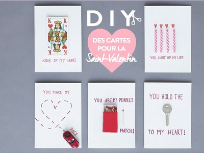 Cartes de la Saint Valentin - DIY Westwing France