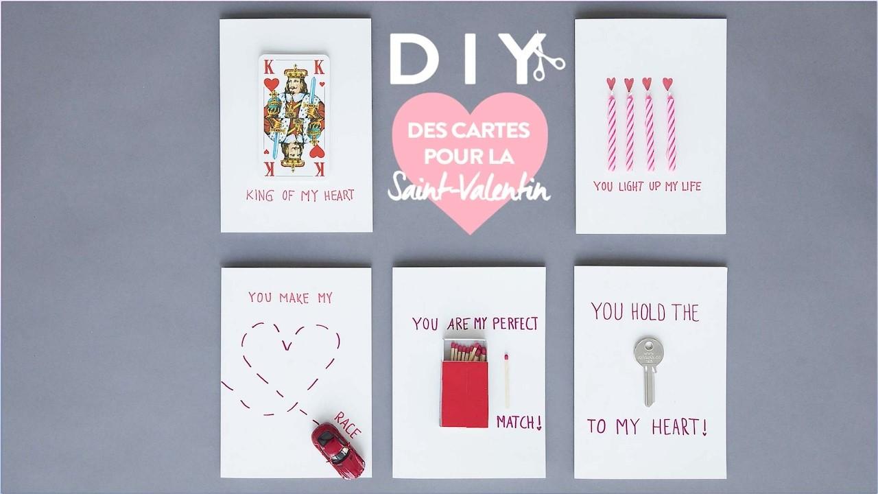 Cartes de la Saint Valentin - DIY Westwing France