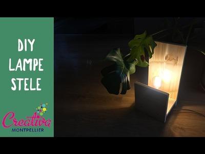 DIY BOIS EP8 Lampe STELE CREATIVA