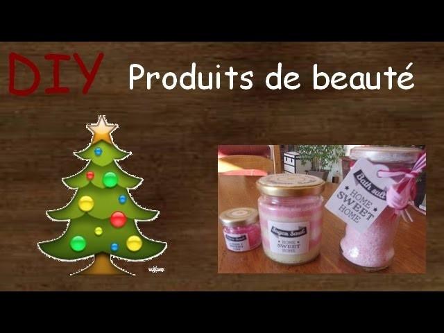 DIY - Cadeaux de Noël -5€ - Produits de Beauté