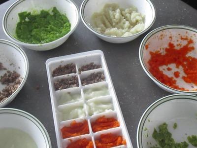 DIY | Repas Bébé Fait Maison | Homemade Baby Food |
