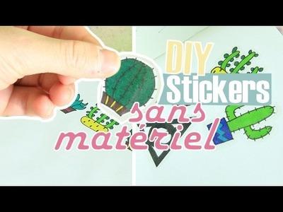 [DIY] Stickers sans matériel !