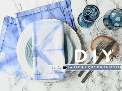 La technique du shibori - DIY Westwing France
