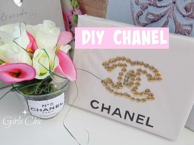 DIY CHANNEL cadre punaise, pot fleur