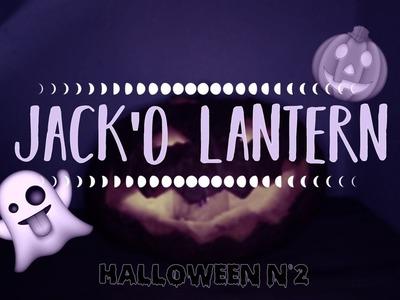 DIY Jack'O Lantern || halloween n°2