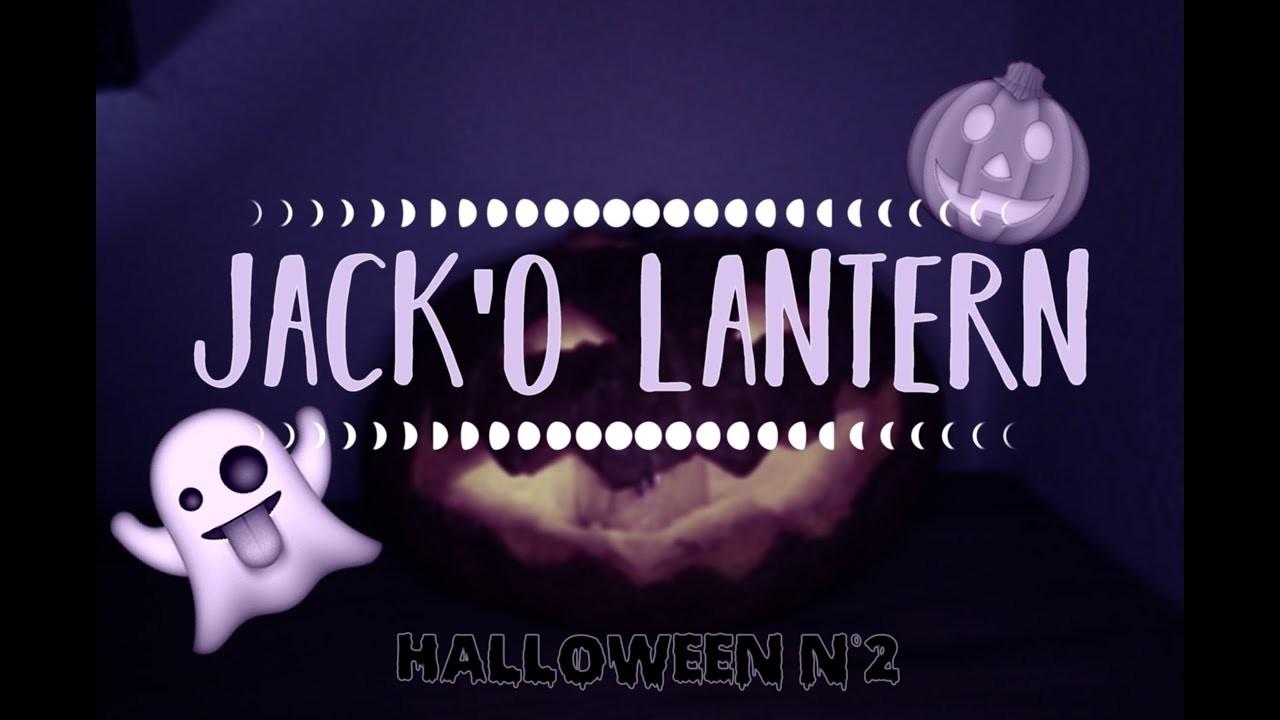 DIY Jack'O Lantern    halloween n°2