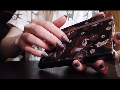 ASMR l TINGLES! Tapping, crinkle, scratching, water.paper sounds.  ❤